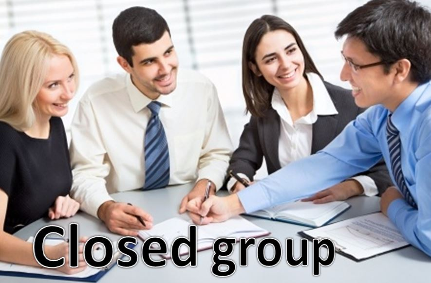 Closed group